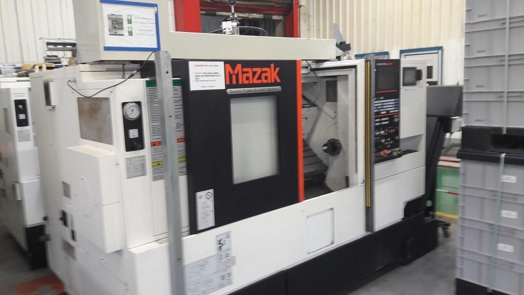 Токарный станок с ЧПУ MAZAK QT SMART 250M U500 фото на Industry-Pilot
