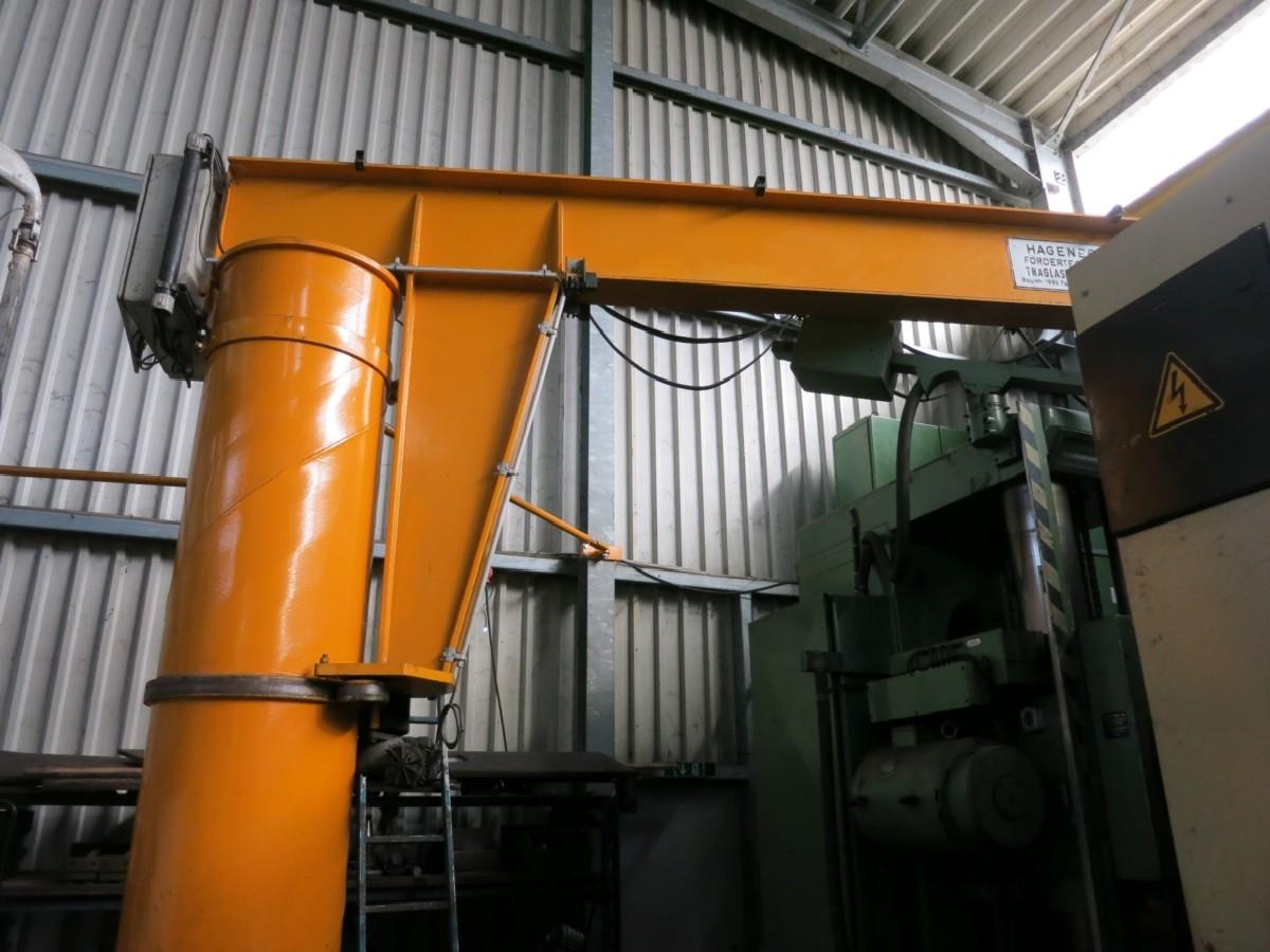 Поворотный кран на колонне Hagener Foerdertechnik  фото на Industry-Pilot