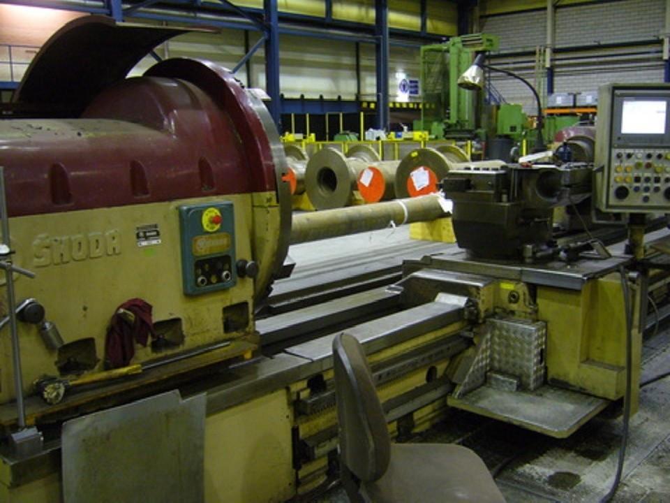 Тяжёлый токарный станок SKODA SIU 126 фото на Industry-Pilot