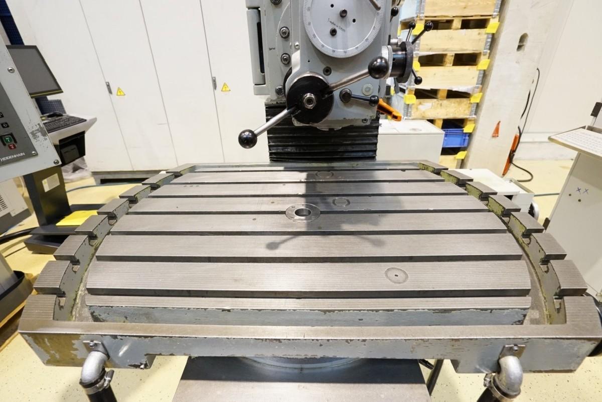 Инструментальный фрезерный станок - универс. MAHO MH 800 P фото на Industry-Pilot
