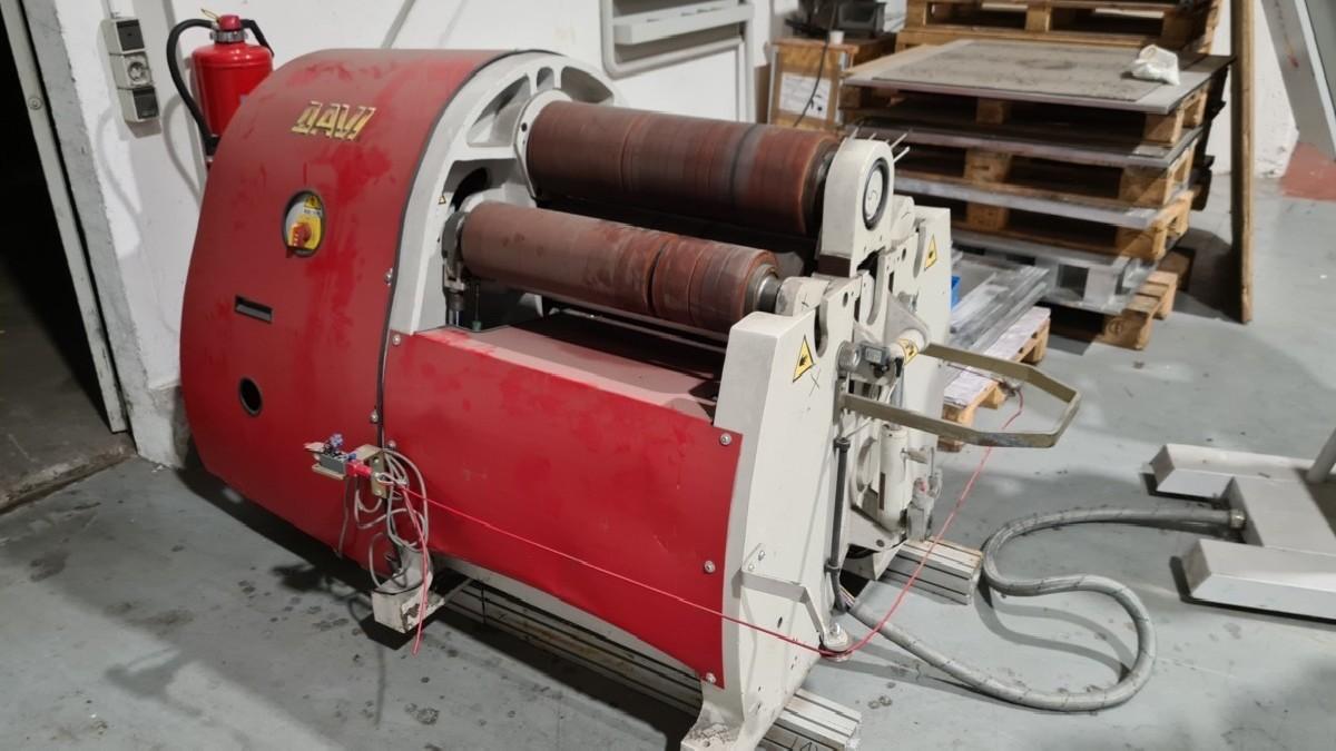 4-вальц. листогибочная машина DAVI PROMAU MCA 0622/S фото на Industry-Pilot