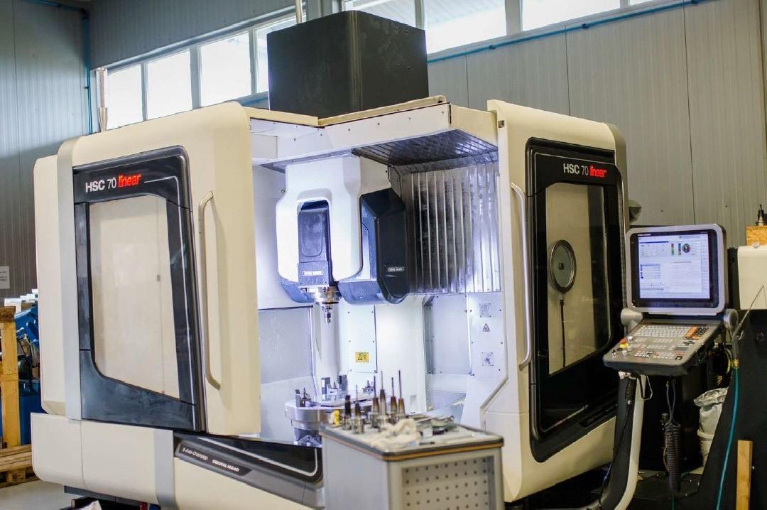 Обрабатывающий центр - универсальный DMG MORI HSC 70 linear фото на Industry-Pilot