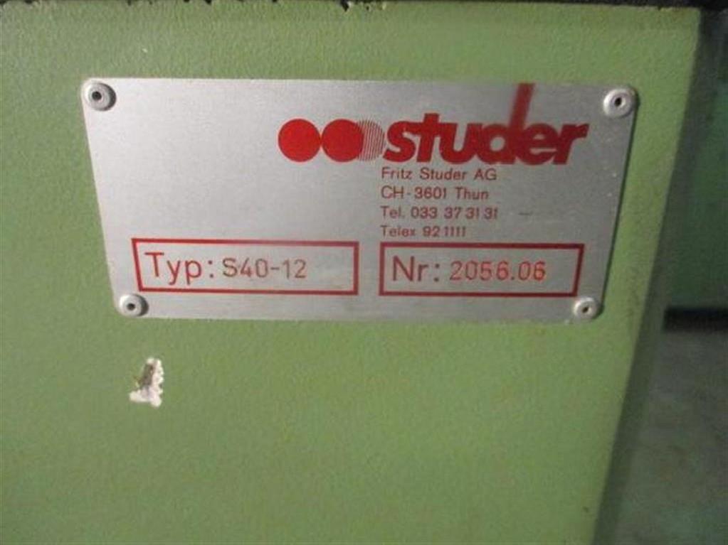 Круглошлифовальный станок STUDER S40-12 фото на Industry-Pilot