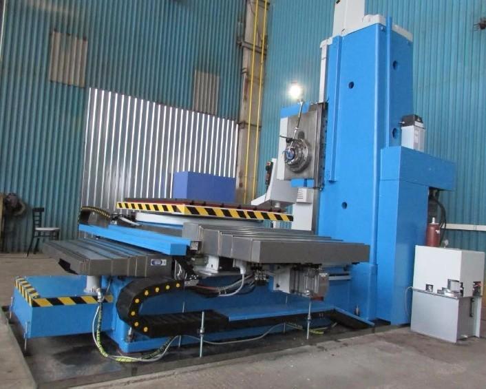 Горизонтально-расточной станок TOS-VARNSDORF WH 10 CNC фото на Industry-Pilot