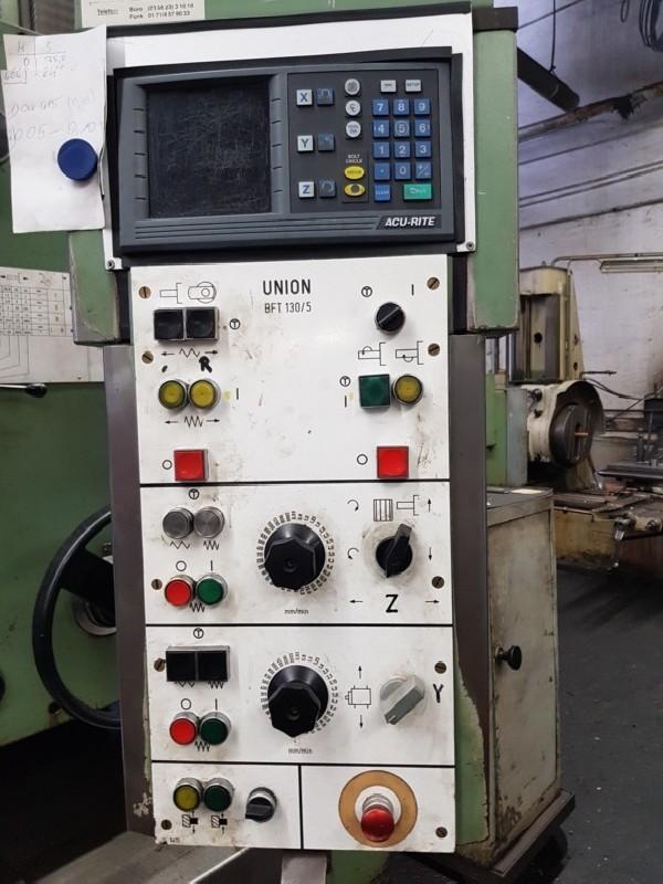 Горизонтально-расточной станок UNION BFT 130/5 фото на Industry-Pilot