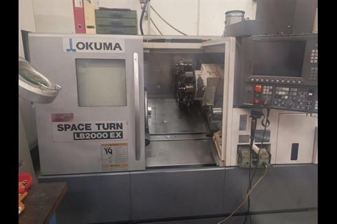 Токарный станок с ЧПУ Okuma LB 2000 EX фото на Industry-Pilot