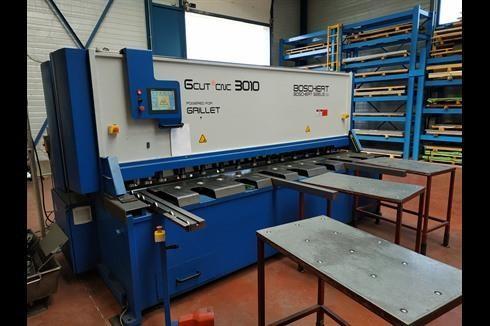 Листогибочный пресс - гидравлический Boschert GCUT 3010 CNC фото на Industry-Pilot