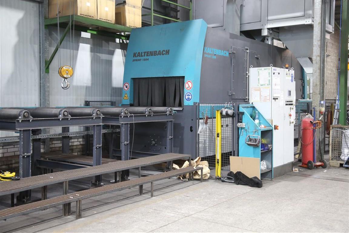Установка для струйной обработки Kaltenbach Sprint A1504 фото на Industry-Pilot