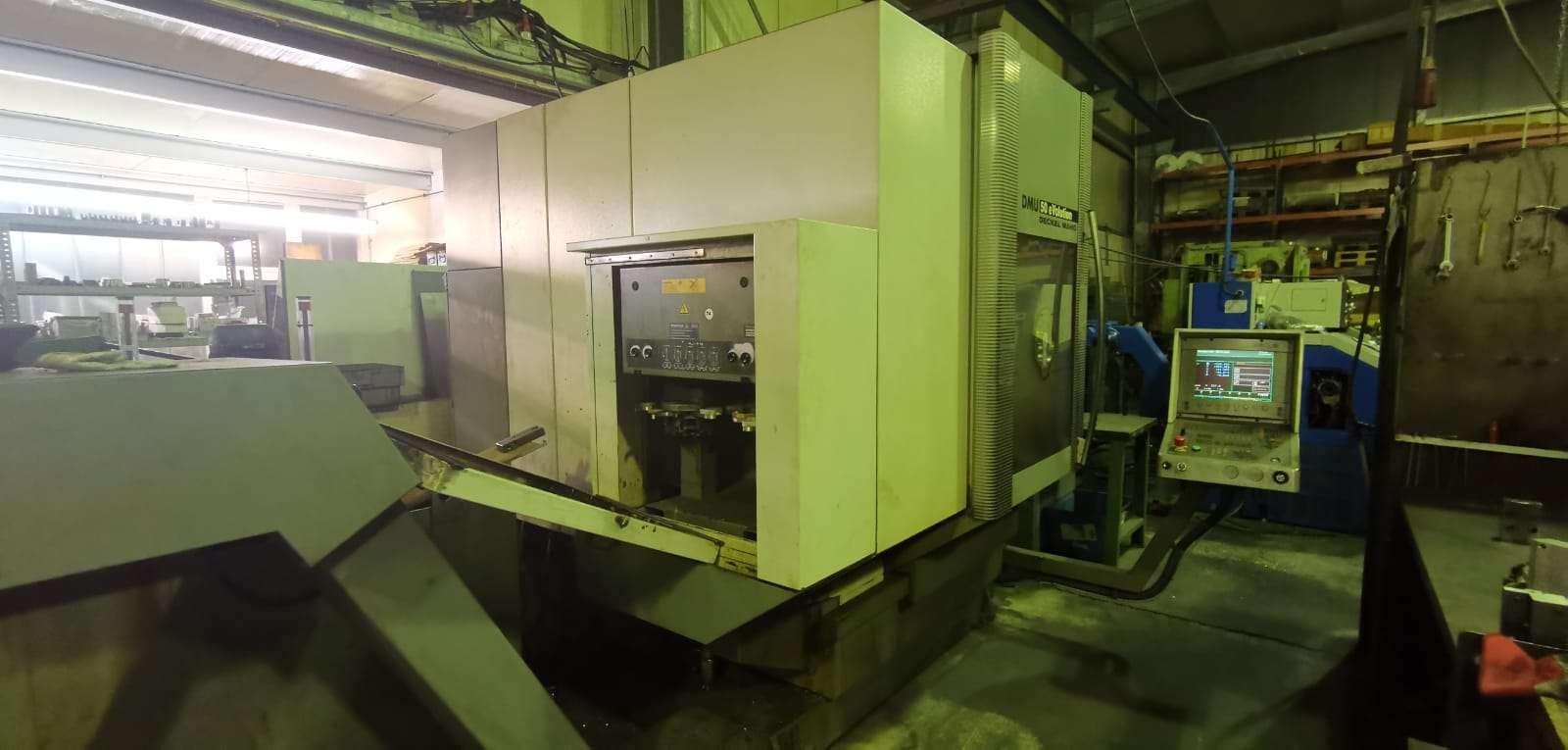 Обрабатывающий центр - универсальный DMG DMU 50 eVolution NEU фото на Industry-Pilot