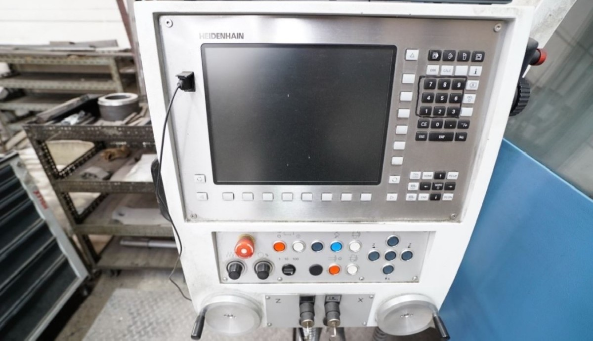 Токарный станок - контрол. цикл KERN-DMT CD 1100 фото на Industry-Pilot