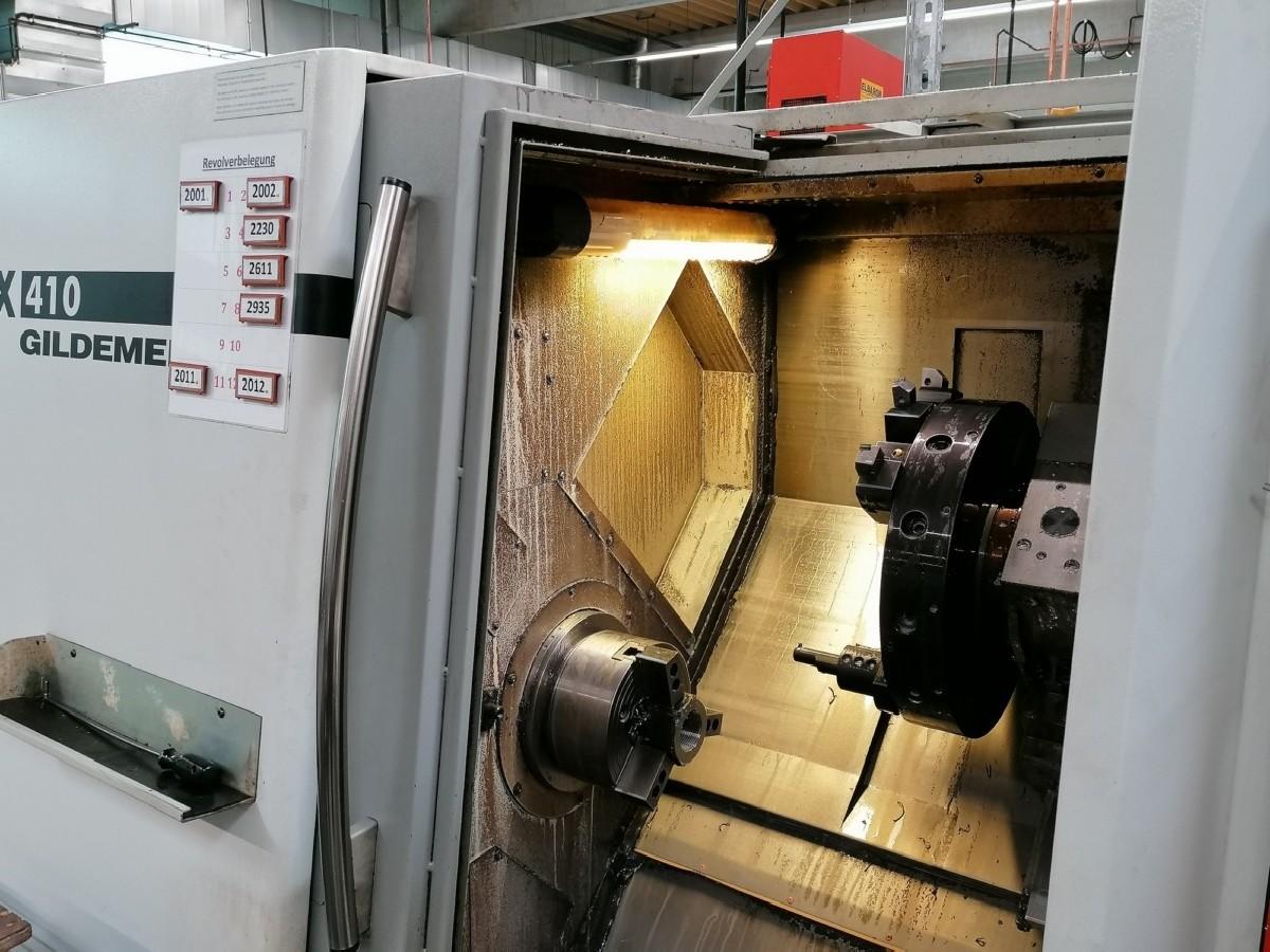 Токарный станок с ЧПУ GILDEMEISTER CTX 410 E / Serie 2 фото на Industry-Pilot