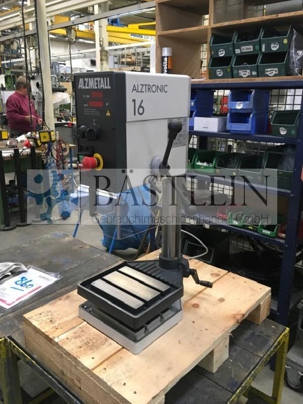 Настольный сверлильный станок ALZMETALL ALZTRONIC 16 MK 2 фото на Industry-Pilot