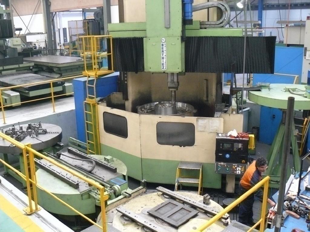 Карусельно-токарный станок - двухстоечный BERTHIEZ LVM 200 фото на Industry-Pilot