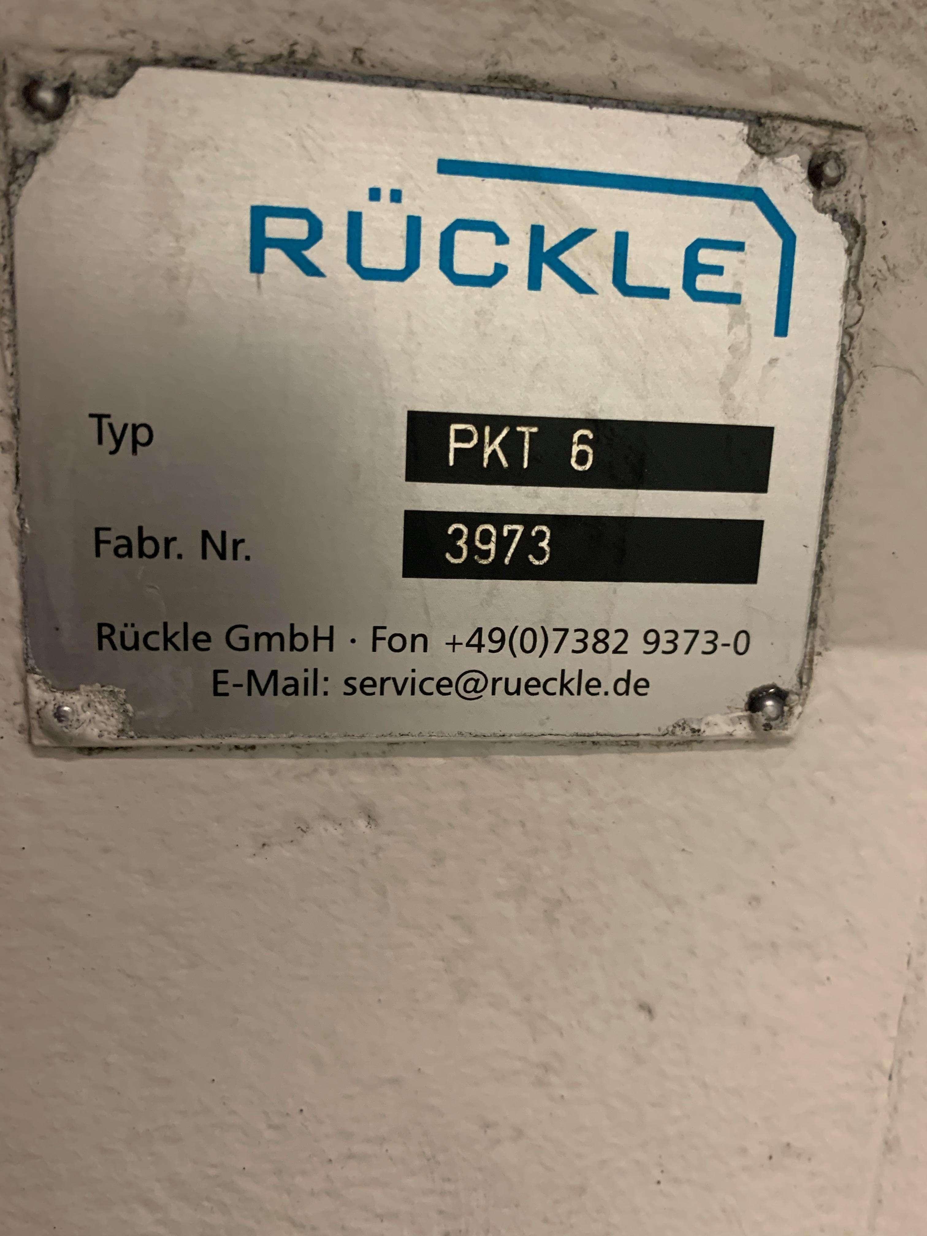 Round table Rückle PKT 6 photo on Industry-Pilot