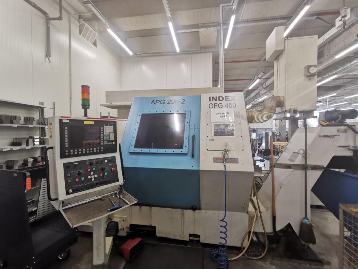 Токарный станок с ЧПУ INDEX GFG450 фото на Industry-Pilot