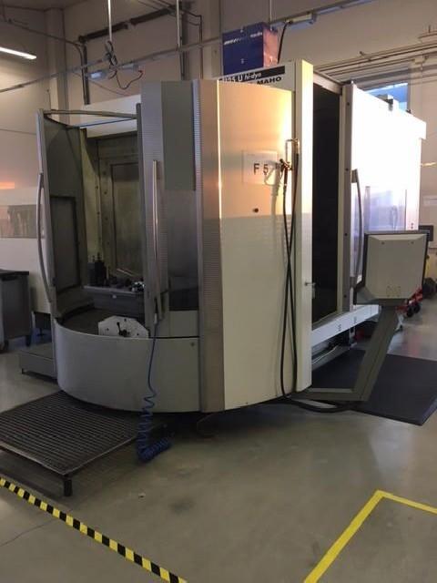 Обрабатывающий центр - универсальный DMG-DECKEL-MAHO DMC 125 U HiDyn фото на Industry-Pilot