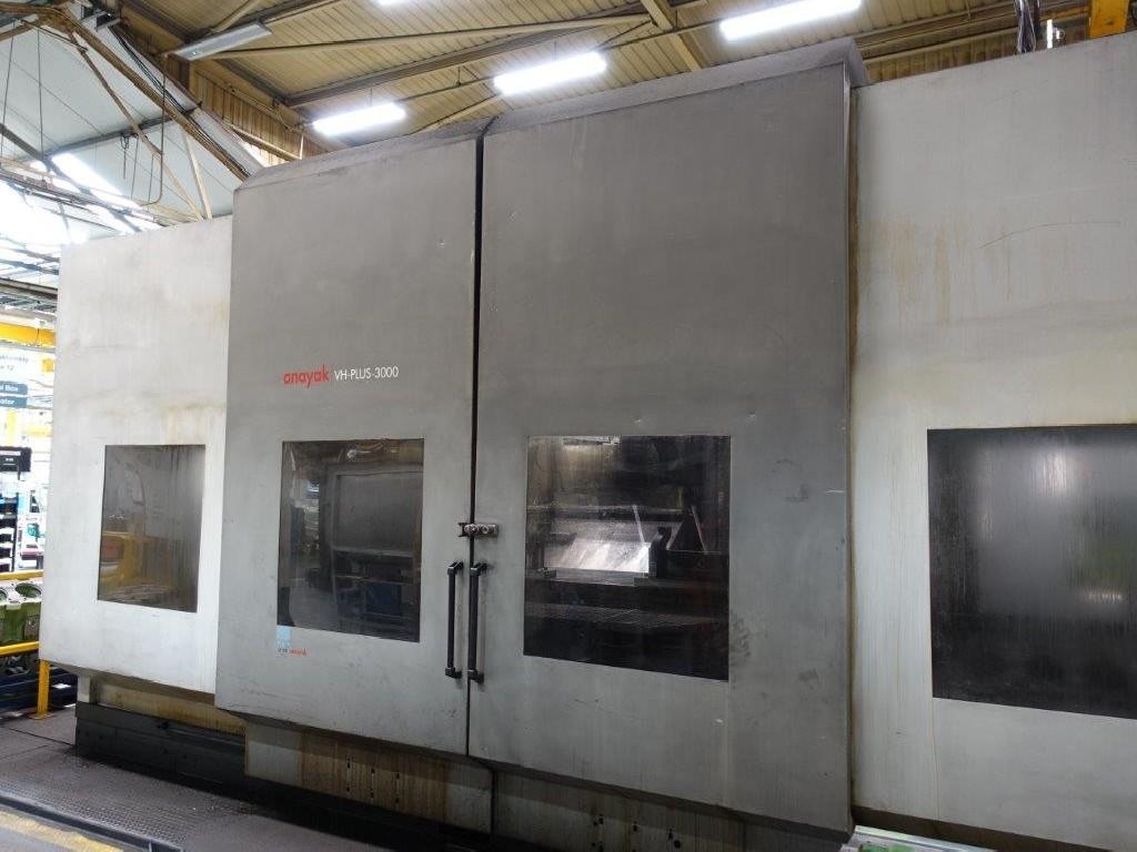 Продольно-фрезерный станок - универсальный ANAYAK VH-Plus 3000 MG фото на Industry-Pilot