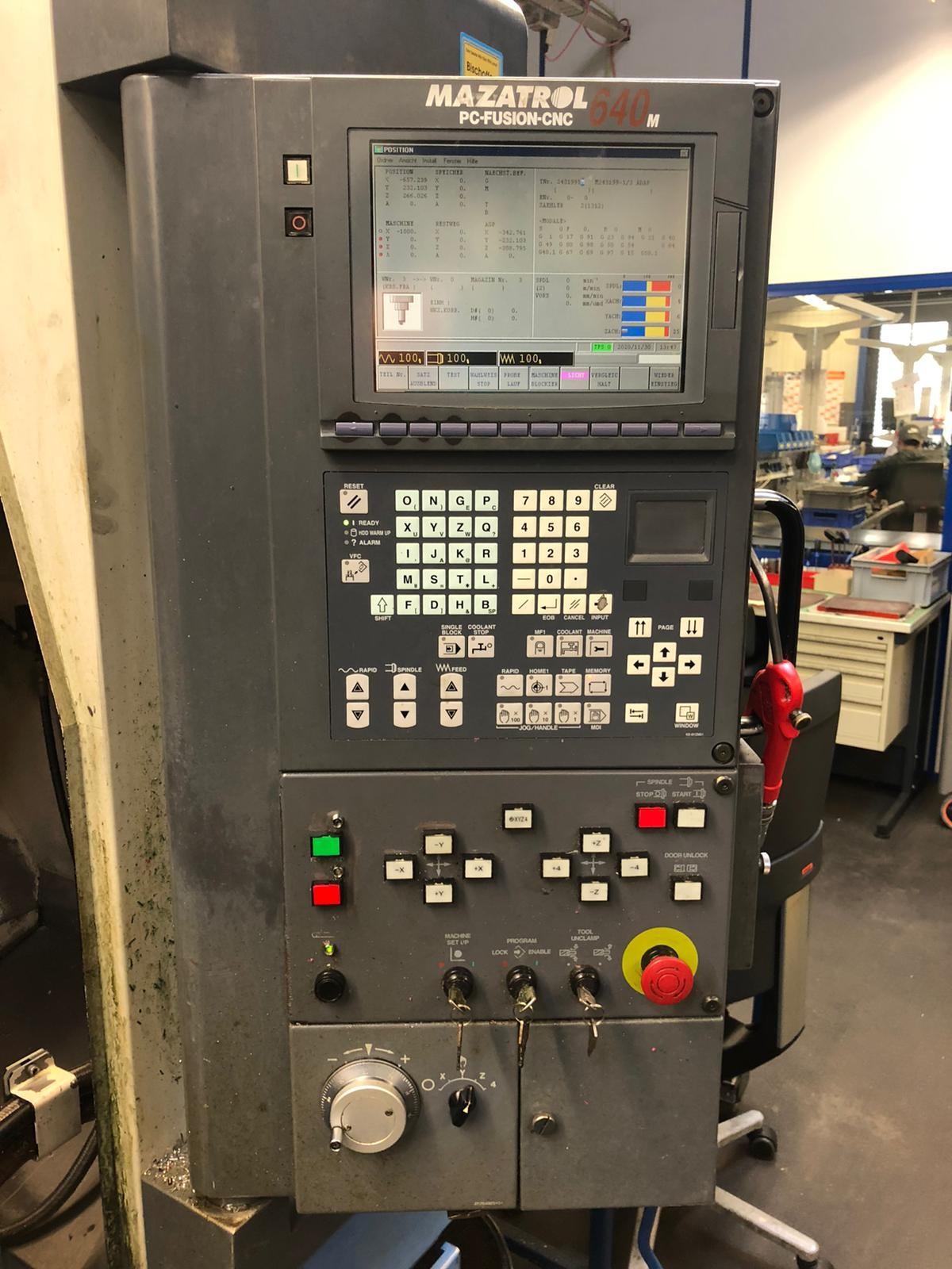 Обрабатывающий центр - вертикальный MAZAK FJV-250 фото на Industry-Pilot