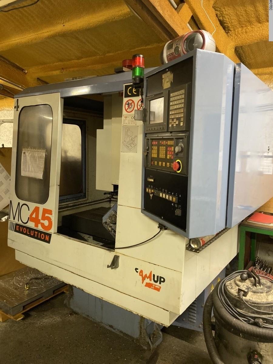 Обрабатывающий центр - вертикальный FAMUP MCX 450 FANUC  фото на Industry-Pilot