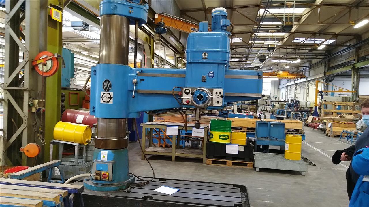 Радиально-сверлильный станок CSEPEL-KOLB 12 UH 1600 фото на Industry-Pilot