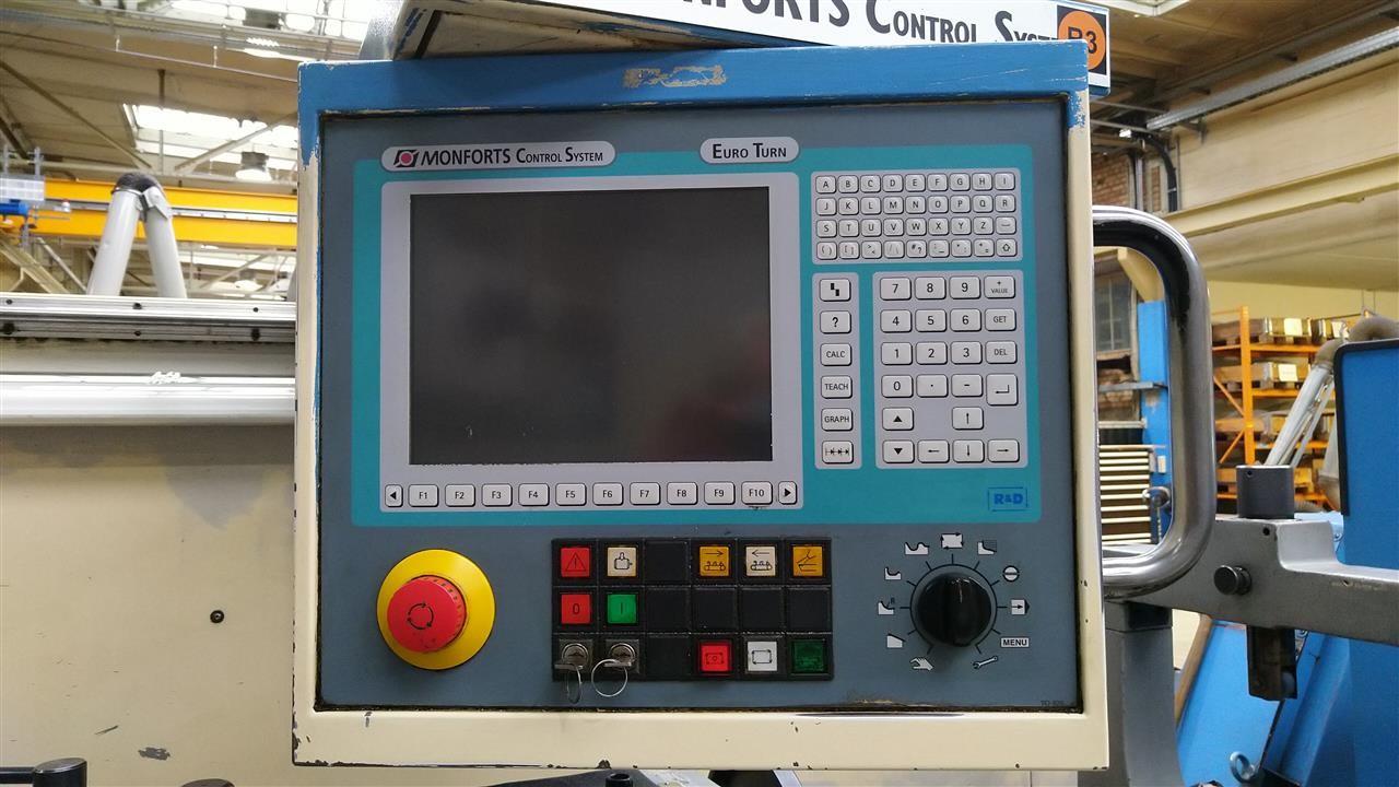 Токарный станок - контрол. цикл MONFORTS KNC 8 x 2000 фото на Industry-Pilot