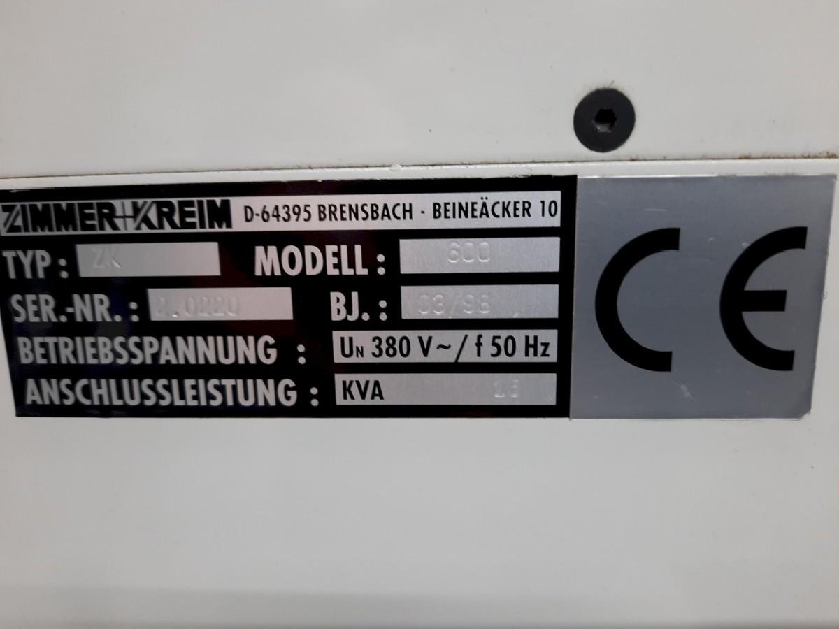 Прошивочный электроэрозионный станок ZIMMER+KREIM ZK600 фото на Industry-Pilot