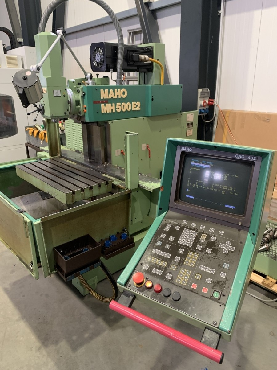 Инструментальный фрезерный станок - универс. MAHO MH 500E2 фото на Industry-Pilot