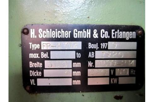 Листогибочный пресс - гидравлический Schleicher 300x4 фото на Industry-Pilot