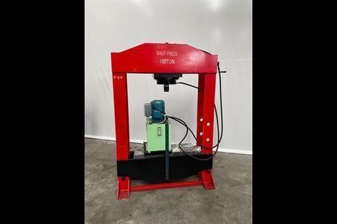 Tryout Press - hydraulic NN Shop press 150 T фото на Industry-Pilot