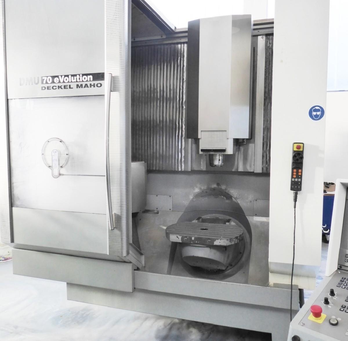 Обрабатывающий центр - универсальный DECKEL MAHO DMU 70 eVolution фото на Industry-Pilot