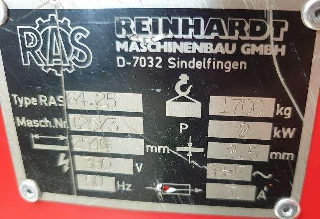 Листогиб с поворотной балкой RAS 64.25 фото на Industry-Pilot