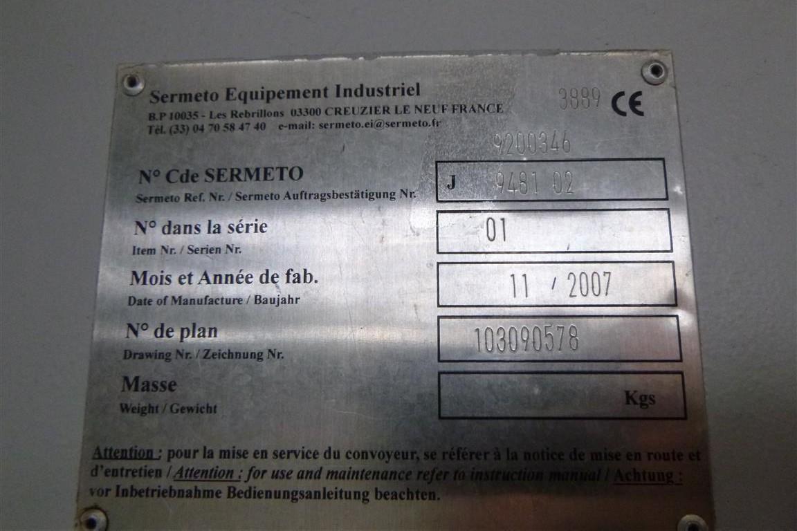 Транспортер стружки Sermeto 01 фото на Industry-Pilot