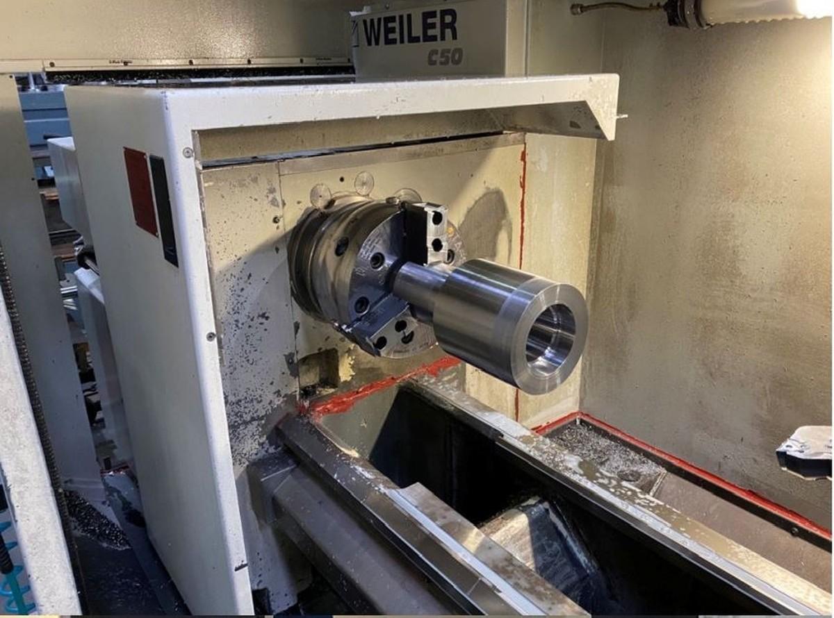 Токарный станок - контрол. цикл WEILER C50 фото на Industry-Pilot