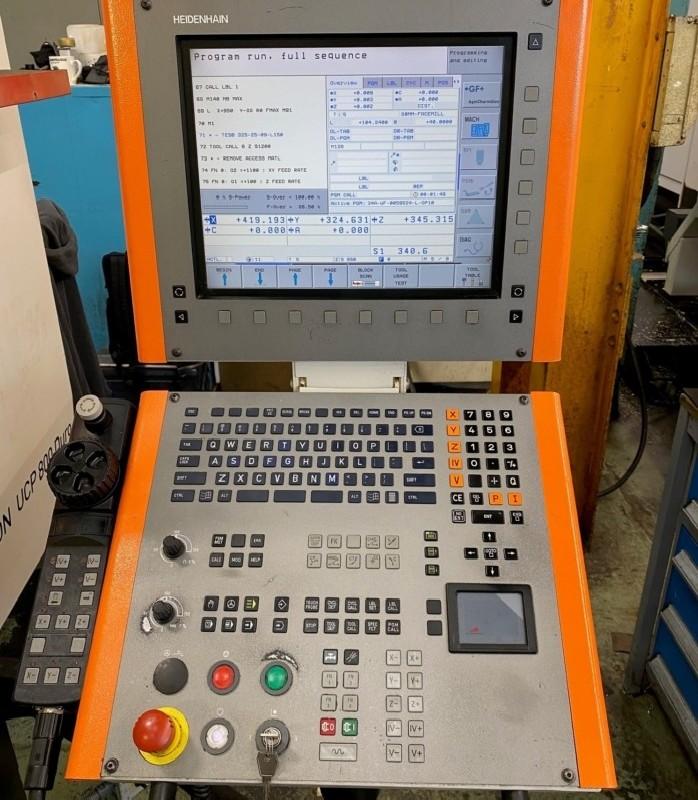 Обрабатывающий центр - универсальный MIKRON UCP 800 Duro фото на Industry-Pilot