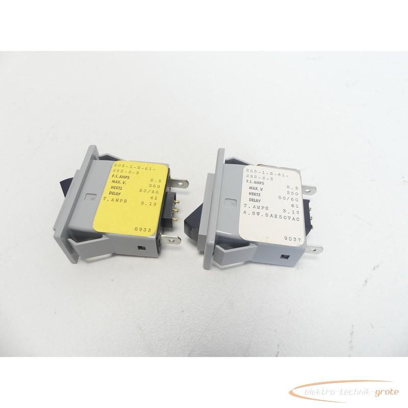 Автоматические выключатели AirPax Elektronics 203-1-2-61-252-2-3 Schalter без эксплуатации! фото на Industry-Pilot