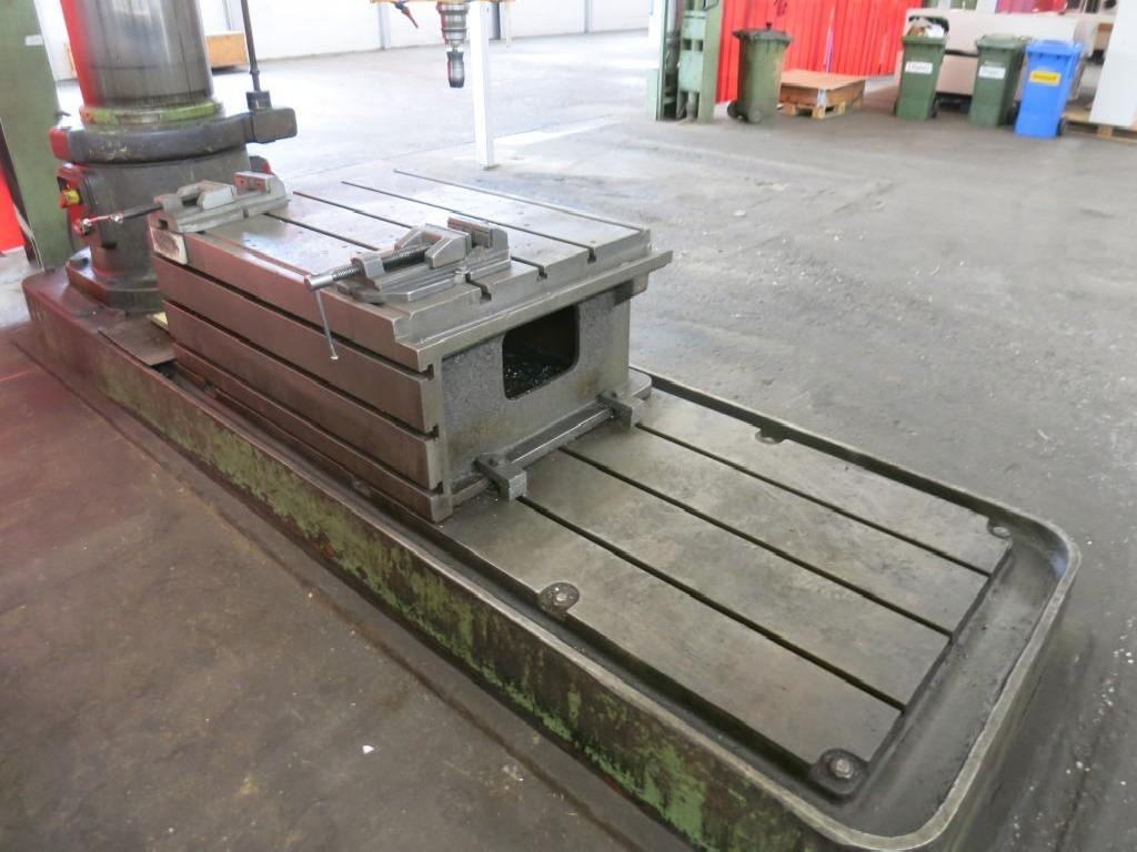 Радиально-сверлильный станок WEBO BR 55 H / 3000 фото на Industry-Pilot