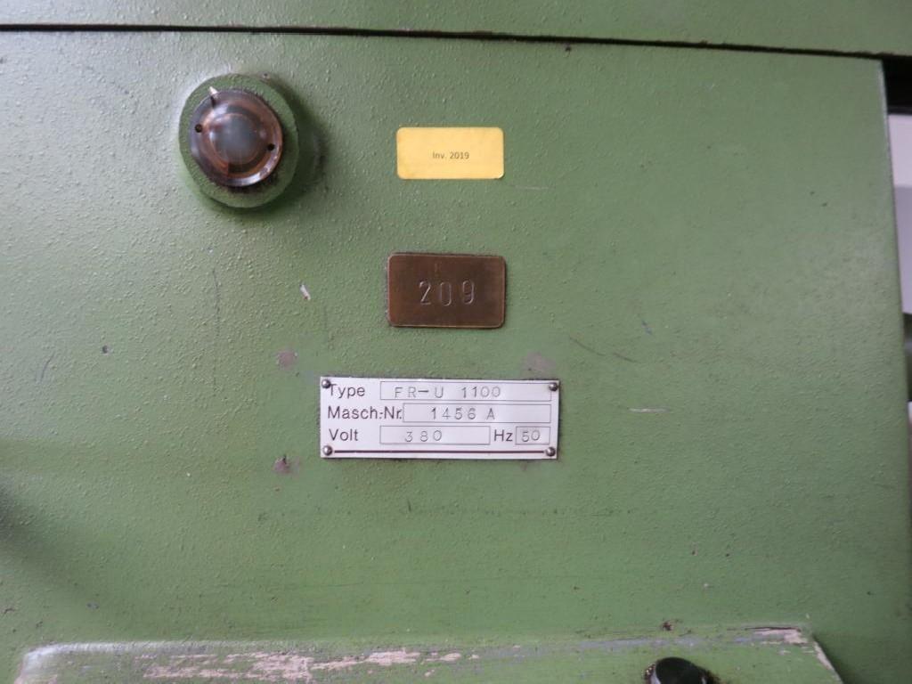 Обрабатывающий центр - универсальный WEYRAUCH FR-U-1100 фото на Industry-Pilot