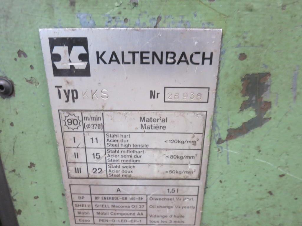 Дисковая пила для холодной резки KALTENABCH KKS 400 фото на Industry-Pilot