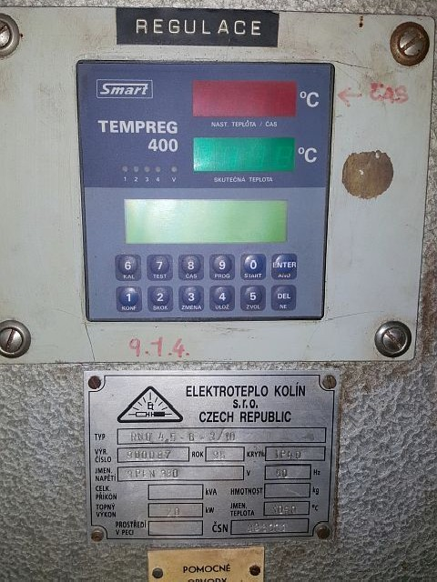 Закалочная установка - электр. ELEKTROTEPLO RNO 4.5-6-3/10 фото на Industry-Pilot