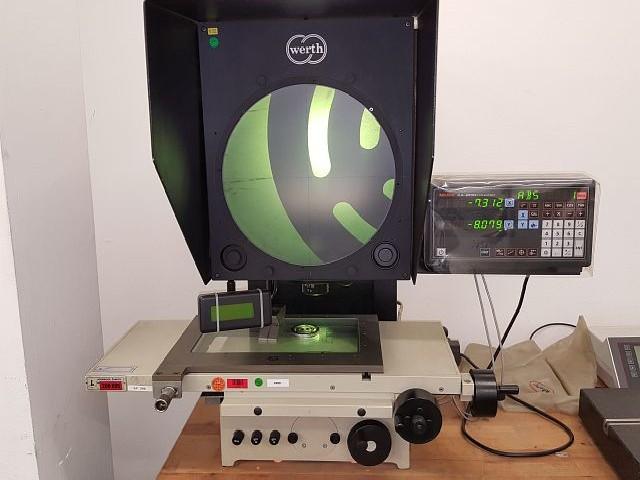Проектор для контроля профиля WERTH OPTIMUS 300 фото на Industry-Pilot