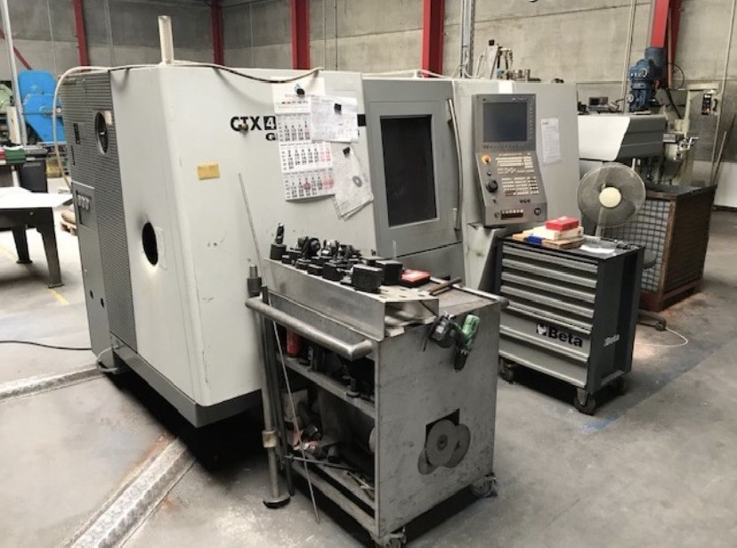 CNC Turning and Milling Machine GILDEMEISTER CTX 410 V 4 photo on Industry-Pilot