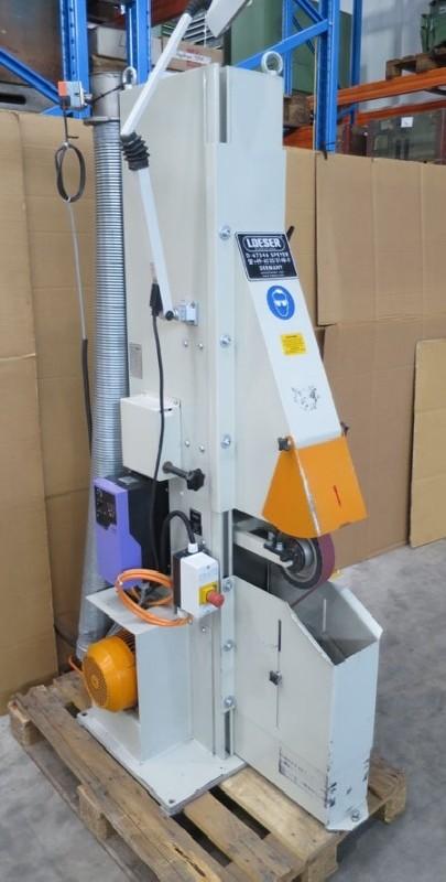 Ленточно-шлифовальный станок LOESER KS100 фото на Industry-Pilot