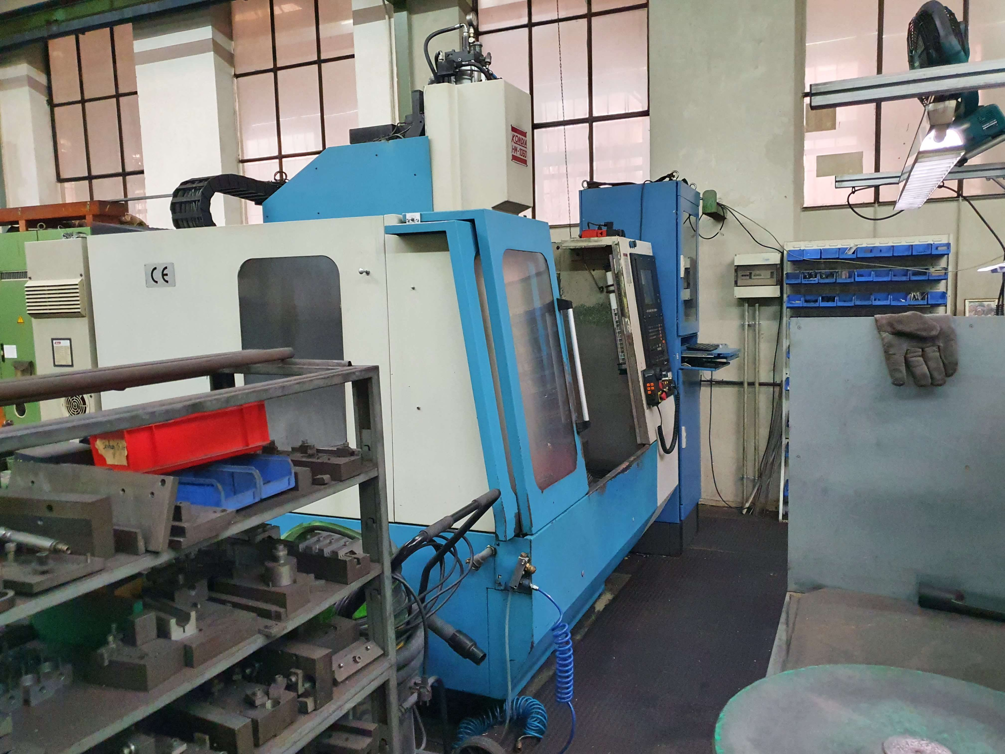 Machining Center - Vertical KONDIA HM 1060 photo on Industry-Pilot