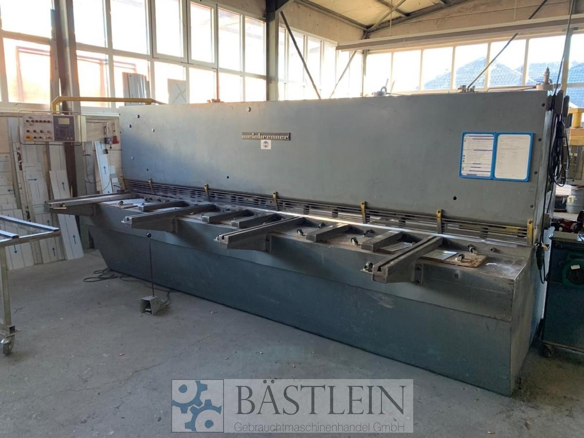 Hydraulic guillotine shear  WEINBRENNER TSV 4/4100 photo on Industry-Pilot