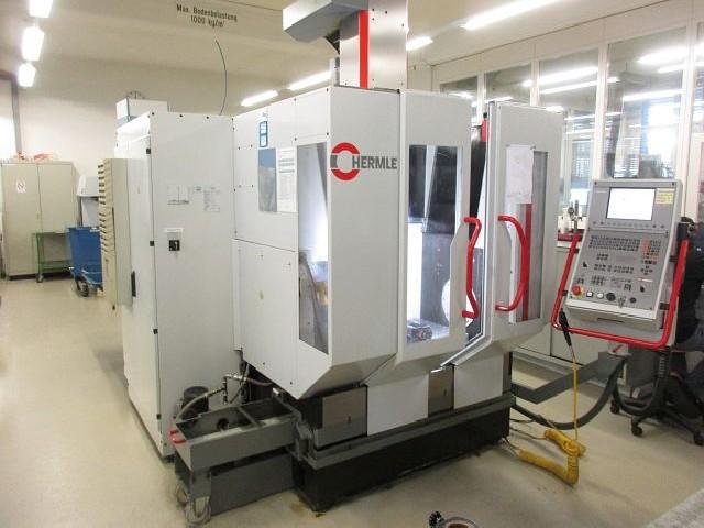 Обрабатывающий центр - вертикальный HERMLE C 600 V фото на Industry-Pilot