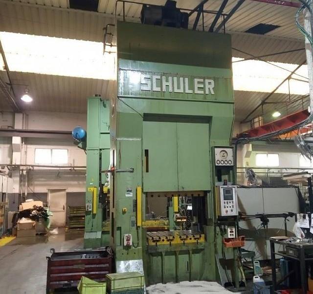 Эксцентриковый пресс - двухстоечный SCHULER P2K2S 300/1.25 фото на Industry-Pilot
