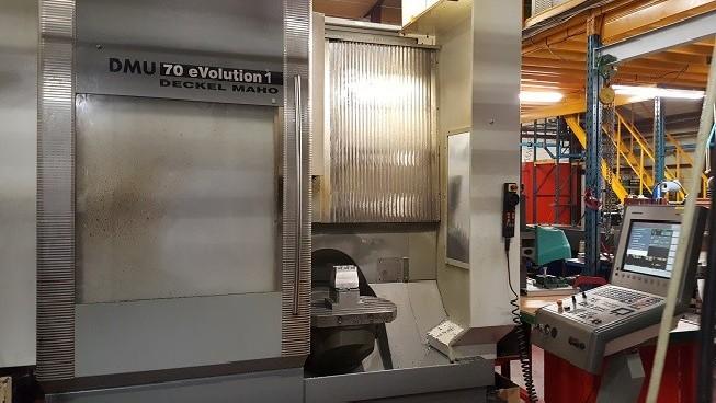 Обрабатывающий центр - универсальный DMG DMU 70 eVolution фото на Industry-Pilot