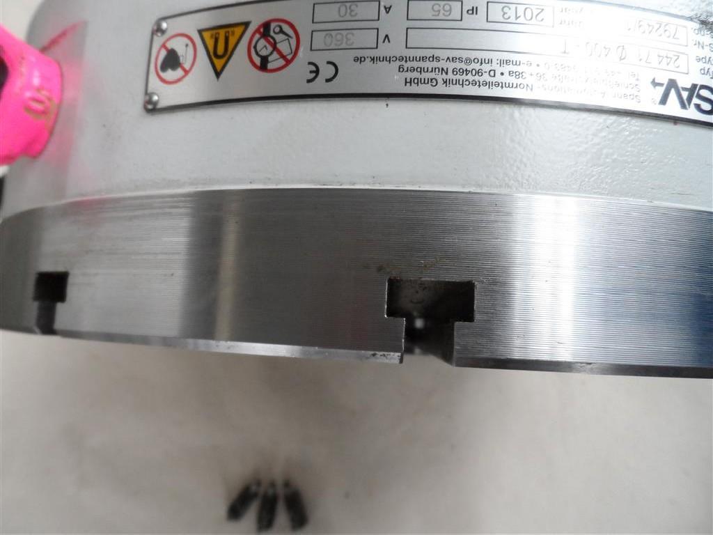 Магнитная зажимная плита SAV Typ 244.71 Ø 400-T фото на Industry-Pilot
