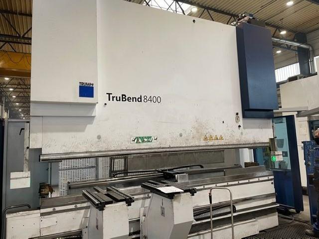Листогибочный пресс - гидравлический TRUMPF TruBend 8400 - 40 фото на Industry-Pilot