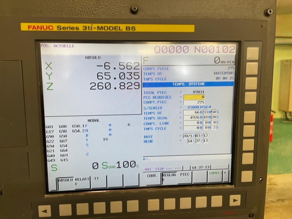 Обрабатывающий центр - вертикальный FANUC Fanuc Robodrill a-D21LiA5 фото на Industry-Pilot